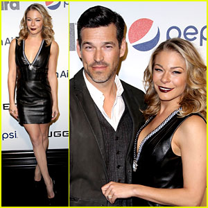 LeAnn Rimes: Billboard's Power 100 Event with Eddie Cibrian!