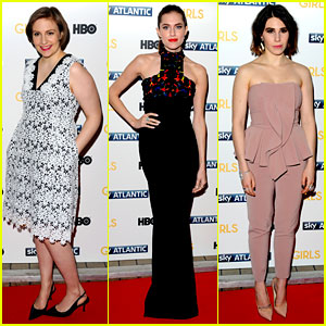Lena Dunham & Allison Williams: 'Girls' Season 3 UK Premiere!