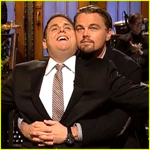 Leonardo DiCaprio & Jonah Hill Recreate 'T