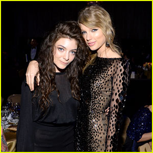 Lorde Meets Up with Taylor Swift at Clive Davis Pre-Grammys Gala 2014!