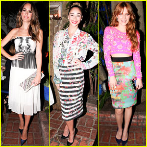 Louise Roe & Cara Santana: Nylon & Nicole Miller Private Dinner!