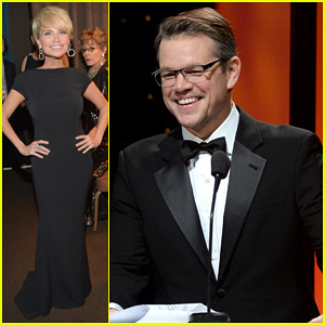 Matt Damon & Kristin Chenoweth: UNICEF Ball 2014!