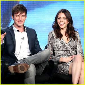 Matt Lanter & Aimee Teegarden: 'Star-Crossed' TCA Tour Panel!