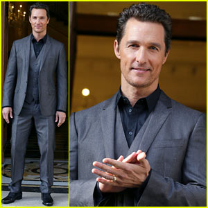 Matthew McConaughey: 'Dallas Buyers Club' Rome Photo Call