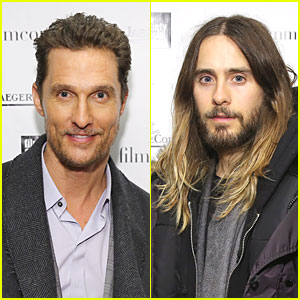 Matthew McConaughey & Jared Leto: Lincoln Center Luncheon!