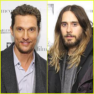 Matthew McConaughey & Jared Leto: Lincoln Center Luncheon!