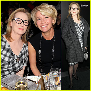 Meryl Streep & Emma Thompson - NBR Awards Gala 2014