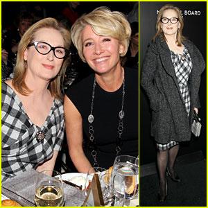 Meryl Streep & Emma Thompson - NBR Awards Gala 2014