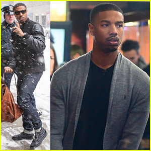 Michael B. Jordan: 'Late Show with David Letterman' Visit!