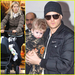 Michael Buble & Luisana Lopilato: Amsterdam Vacation with Baby Noah!