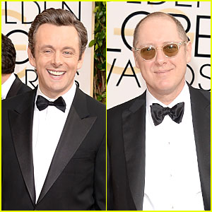 Michael Sheen & James Spader - Golden Globes 2014 Nominees