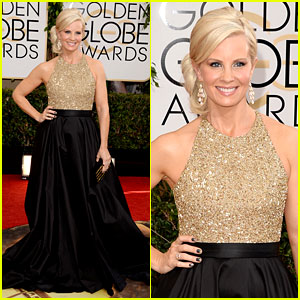 Monica Potter - Golden Globes 2014 Red Carpet