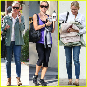 Naomi Watts Runs Lots of Errands in Los Angeles
