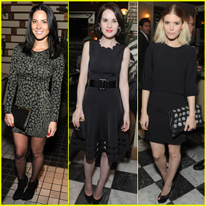 Olivia Munn & Michelle Dockery: HBO Pre-Golden Globes Party