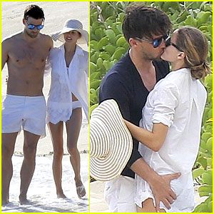 Olivia Palermo & Johannes Huebl: Kissing After Engagement!