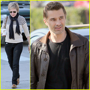 Olivier Martinez: New Year's Day with Mother Rosemarie!