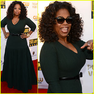 Oprah Winfrey - Critics' Choice Movie Awards 2014 Red Carpet