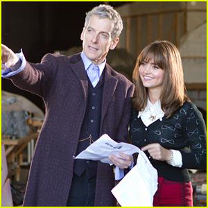 Peter Capaldi Begins Filming Season 8 of 'Doctor Who'!