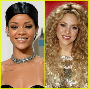 Rihanna & Shakira Releasing Song 'Can't Remember to Forget' Next Week!