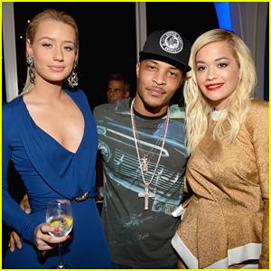 Rita Ora & Iggy Azalea: Friends 'N' Family Pre-Grammy Dinner!
