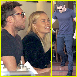 Sam Worthington & Lara Bingle Lunch Before Her Court Appearance
