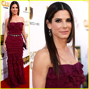 Sandra Bullock - Critics' Choice Movie Awards 2014 Red Carpet