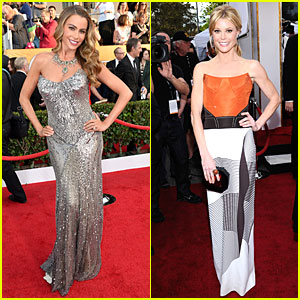 Sofia Vergara & Julie Bowen - SAG Awards 2013 Red Carpet