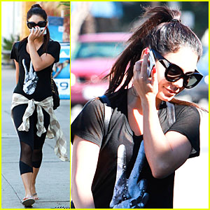 Vanessa Hudgens: I Made Myself Ugly for 'Gimme Shelter'!