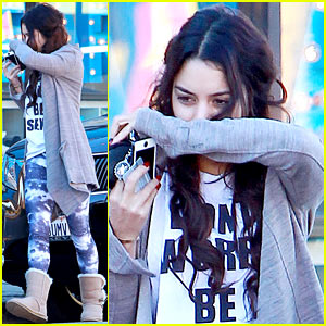 Vanessa Hudgens Works Out After 'Gimme Shelter' Premiere