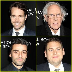 Will Forte, Bruce Dern, & Oscar Isaac - NBR Awards Gala 2014