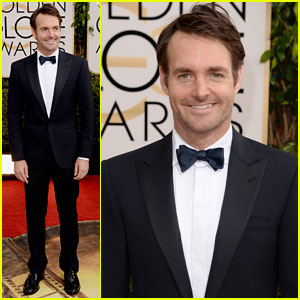 Will Forte - Golden Globes 2014 Red Carpet