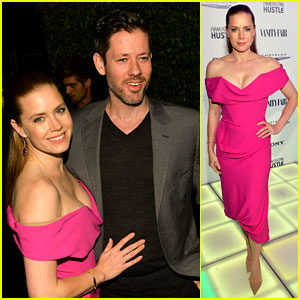 Amy Adams Helps Honor 'American Hustle' at Vanity Fair Event!