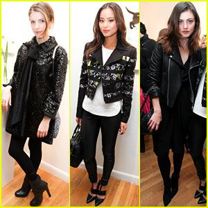 Anna Kendrick & Jamie Chung: Marc Jacobs Pop Up Shop Party!