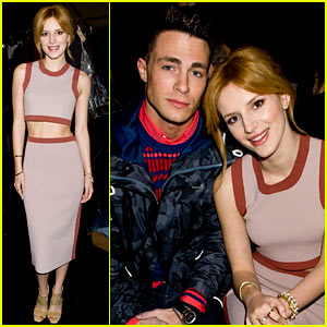 Bella Thorne & Colton Haynes: Lacoste Fashion Week Show!