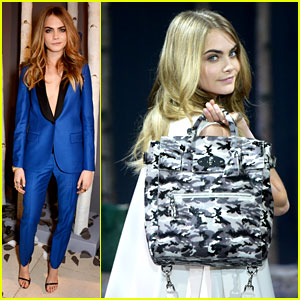 Cara Delevingne Launches Her Mulberry Bag Collection!