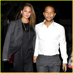 Chrissy Teigen & John Legend Relax with Date Night After 'Sports Illustrated' Press Tour!