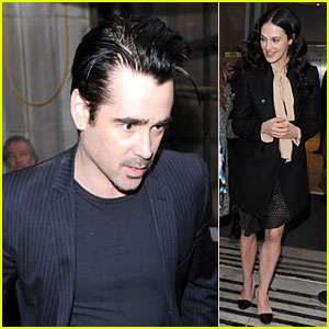 Colin Farrell & Jessica Brown Findlay: BBC Radio Promo for 'Winter's Tale'!