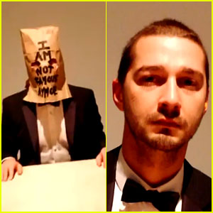 Inside Shia LaBeouf's #IAMSORRY Exhibit