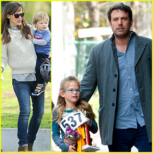 Ben Affleck & Jennifer Garner Put Family First, Spend Weekend with the Kids!