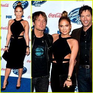 Jennifer Lopez & Keith Urban: 'American Idol' Top 13 Celebration!