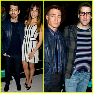 Joe Jonas & Colton Haynes: Richard Chai Show at NYFW!