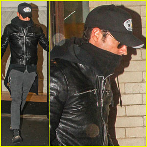 Justin Theroux Visits Philip Seymour Hoffman's Partner for Third Time in Three Days
