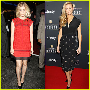 Kate Mara & Brooklyn Decker Bring Their Beauty to NFL Honors 2014