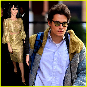 Katy Perry Parties in London, John Mayer Stays in New York