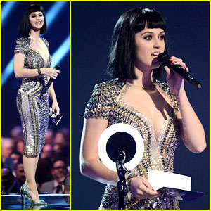 Katy Perry Wows in Second Outfit at BRIT Awards 2014!