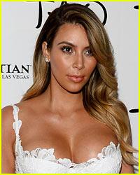 Kim Kardashian Models Vintage Lingerie in #TBT Pics