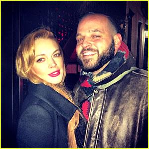 Lindsay Lohan & Mean Girls' Damian Meet Up 10 Years Later!