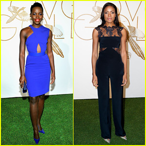 Lupita Nyong'o & Naomie Harris: LoveGold Cocktail Party!