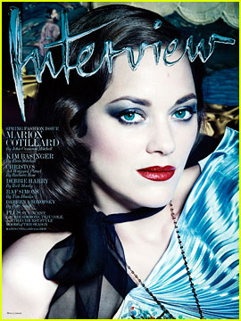 Marion Cotillard to 'Interview': I Would Like to Play a Man!