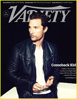 Matthew McConaughey to 'Variety': Damn Right This is a Great Time in My Career!